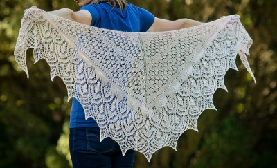 Mary-Anne's original shawl