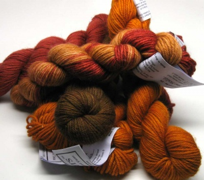 J Knits: Superwash Me/ DK in Various Autumnal Colorways