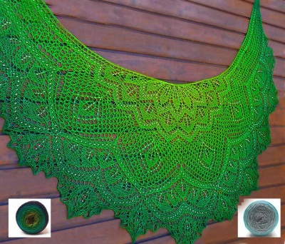 Sylvan Lace Shawl/ Beaded Kits - Kits