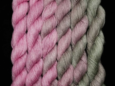 Sets!  Sylph in Tinsel Toes - Fingering/Sock weight