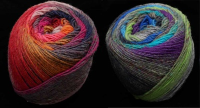 Tabi from Noro: 2 Colorways