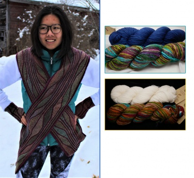 Topographical Scarf:  Kits