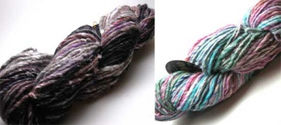 Orphan Skeins: Transitions from Noro/ Super-Bulky