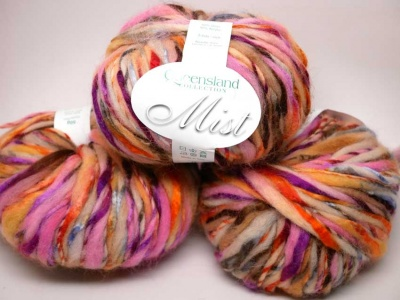 Orphan Skeins:  Tropical Sunburst in Mist from Queensland