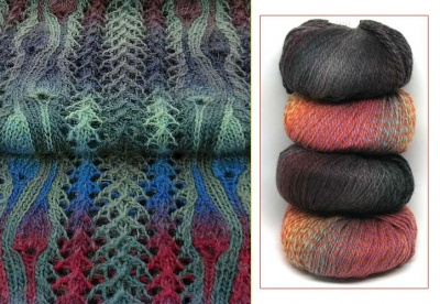 Tuile:  A Double-Knitted Lace Project/ Kits