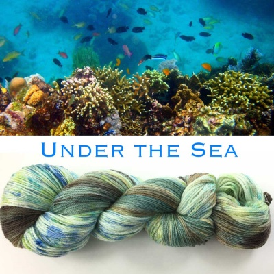 ArtYarns Inspiration Club:  May: Under The Sea -