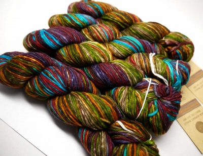 Uneek Worsted #4002 skeins.