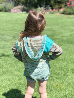 Under the Sea Child Hooded Pullover