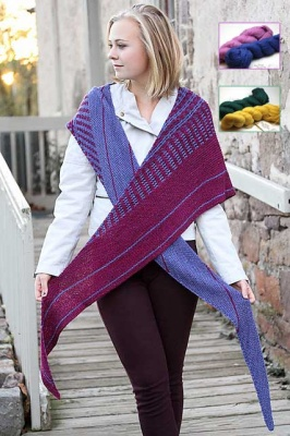 Vary/ Pattern by Jennifer Dassau of the Knitting Vortex - Shawls/Stoles