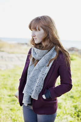 Wexford/ Geometric Lace Scarf/ Loft Collection -