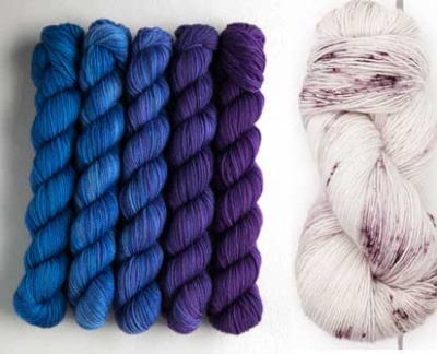The Whisper set plus a skein of Good Silence.