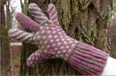 Wonderland Gloves/ Pattern from Green Mtn Spinnery - Mittens/Gloves