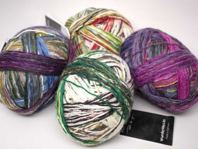 Wunderklecks:  Yarn For Free One-Skein Pattern