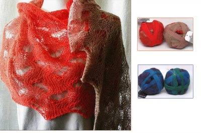 Wunderwellen/ Kits of Laceball: Warm or Cool/ Bead Option