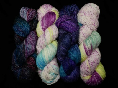 Kit B: left to right is Musas, Bella Vista, Wild Violet, Bella Vista
