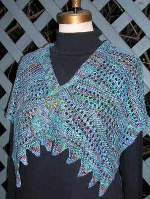 A Fine Balance/ Pattern by Maureen Mason-Jamieson - Scarves and Cowls