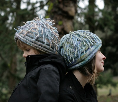Anemone Hat/ Pattern by Cat Bordhi -