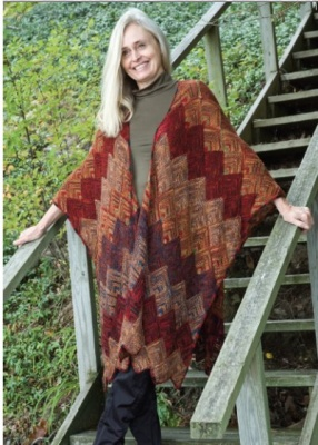 Anne Ruana/ Pattern from Schaefer - Shawls/Stoles