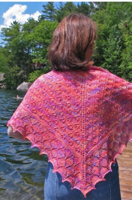 Anne Spring Shawl/ Pattern from Schaefer Yarns -