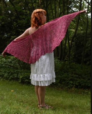 Aphrodite/ Beaded Shawl Pattern by Sivia/ Bead Gift -