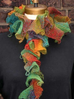 Around the Corner Scarf/ Pattern -