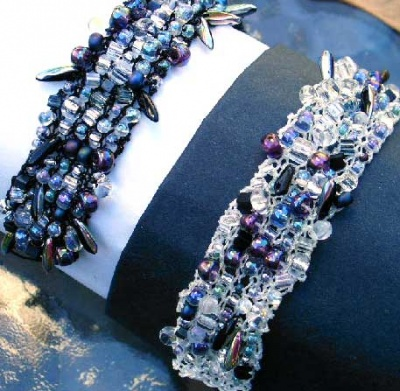 Bead Soup Bracelet/ Black or White Kits - Jewelry Creations
