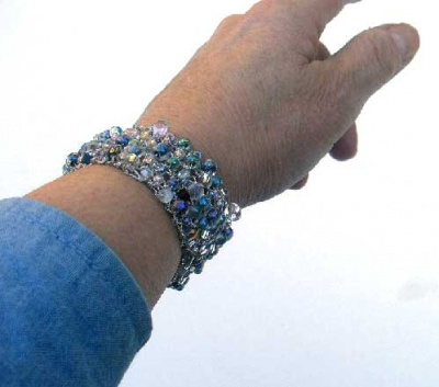Bead Soup Bracelet/ Crystals Plus - Jewelry Creations