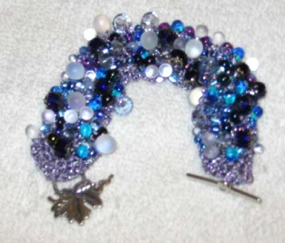 Bead Stew Bracelet / Bubbles -