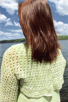 Brisa Shrug/ Pattern by Laura Nelkin -