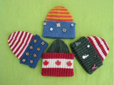 Button-Me Hat pattern -