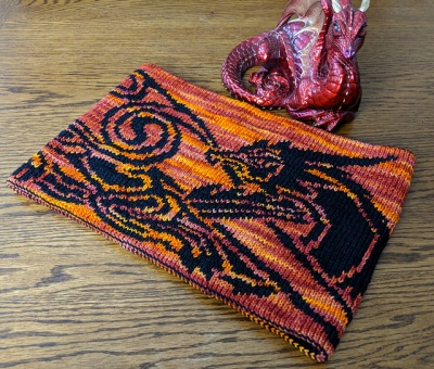 Celtic Flame Dragon Cowl/ Kits/ Original Colors - Kits