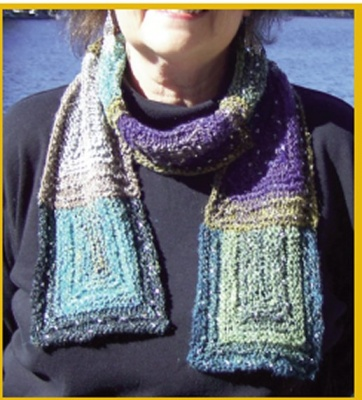 It's Cool To Be Square/ Scarf Pattern by Catie - Scarves and Cowls