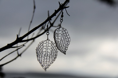 Leaf Earrings/ A Wire Kit - Jewelry Creations