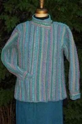 Cords and Cables Crochet Cardigan/ by Maureen Mason-Jamieson -