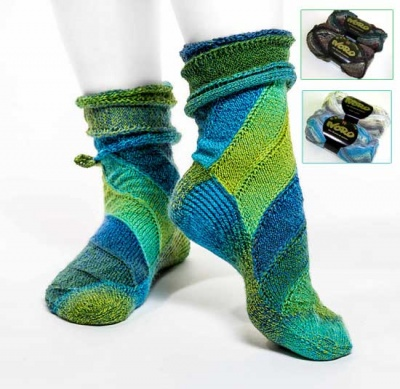 CurlyWhirly/ Kits for Socks