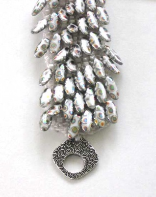An earlier version of this bracelet, this one had been called Dancing Icicles
