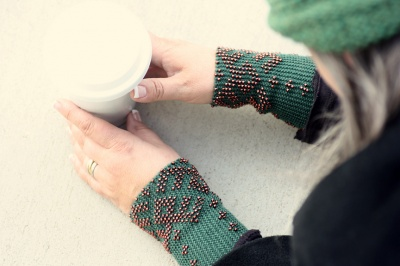 Romi's original pulse warmers, © Romi