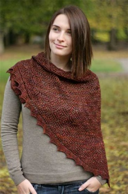 Diamond Fantasy Scarf or Shawl/ Pattern - Shawls/Stoles