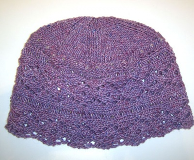 Diamond Girl Cap/ Pattern by Catie/ Bead Gift -