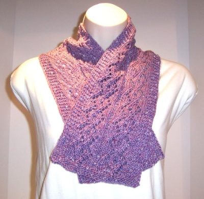 Diamond Girl Scarf/ Pattern by Catie - Scarves and Cowls