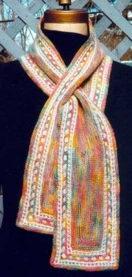 Dipsy-Doodle U-Turn Scarf / pattern - Scarves and Cowls