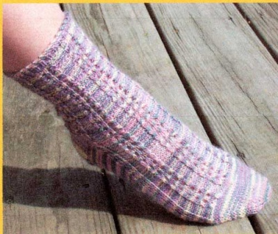 A Dream Walking Socks/ Beaded Pattern by Catie/ Bead Gift -