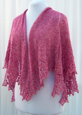 Eilir Shawl Pattern/ by Abbey/ Bead Gift - Shawls/Stoles