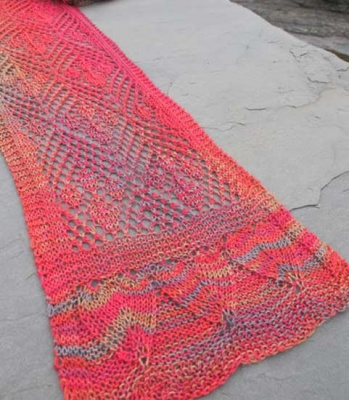 Fallin' for You/ Pattern from Schaefer Yarns - Scarves and Cowls