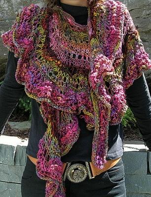 Feather n fan wrap pattern by jane thornley earthfaire wish list dt1010fo