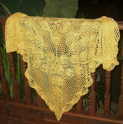 Firelight/ Shawl Pattern by Mary White - Shawls/Stoles