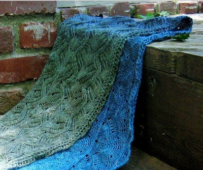 Goldberry Scarf/ Pattern from Sunflower Designs - Shawls/ Stoles