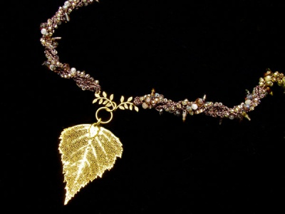 Golden Birch Necklace Kit/ Version III - Jewelry Creations