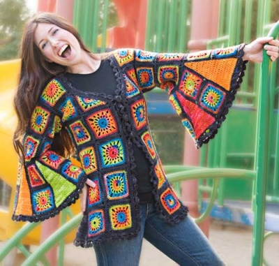 Granny Takes A Trip/ Crochet Pattern from Ellene Warren -