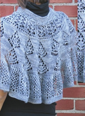 Heather Chill Chaser/ Pattern from Schaefer Yarns - Shawls/Stoles